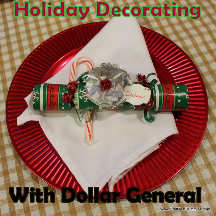 Holiday Decorating with Dollar General Tablescapes Pinterest - dollar general christmas decorations