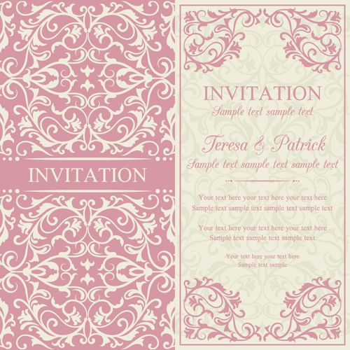Vintage ornate holiday invitation cards vector 02 vector card free vintage ornate holiday invitation cards vector 02 vector card free download stopboris Choice Image