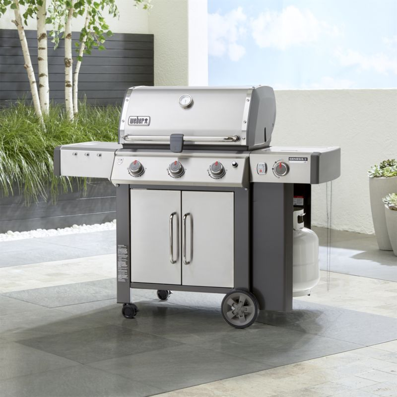 Shop Weber Genesis Ii Lx S 340 3 Burner Gas Grill It S Like Having A Kitchen Stove Right On Your Patio Let Gas Grill 3 Burner Gas Grill Best Charcoal Grill