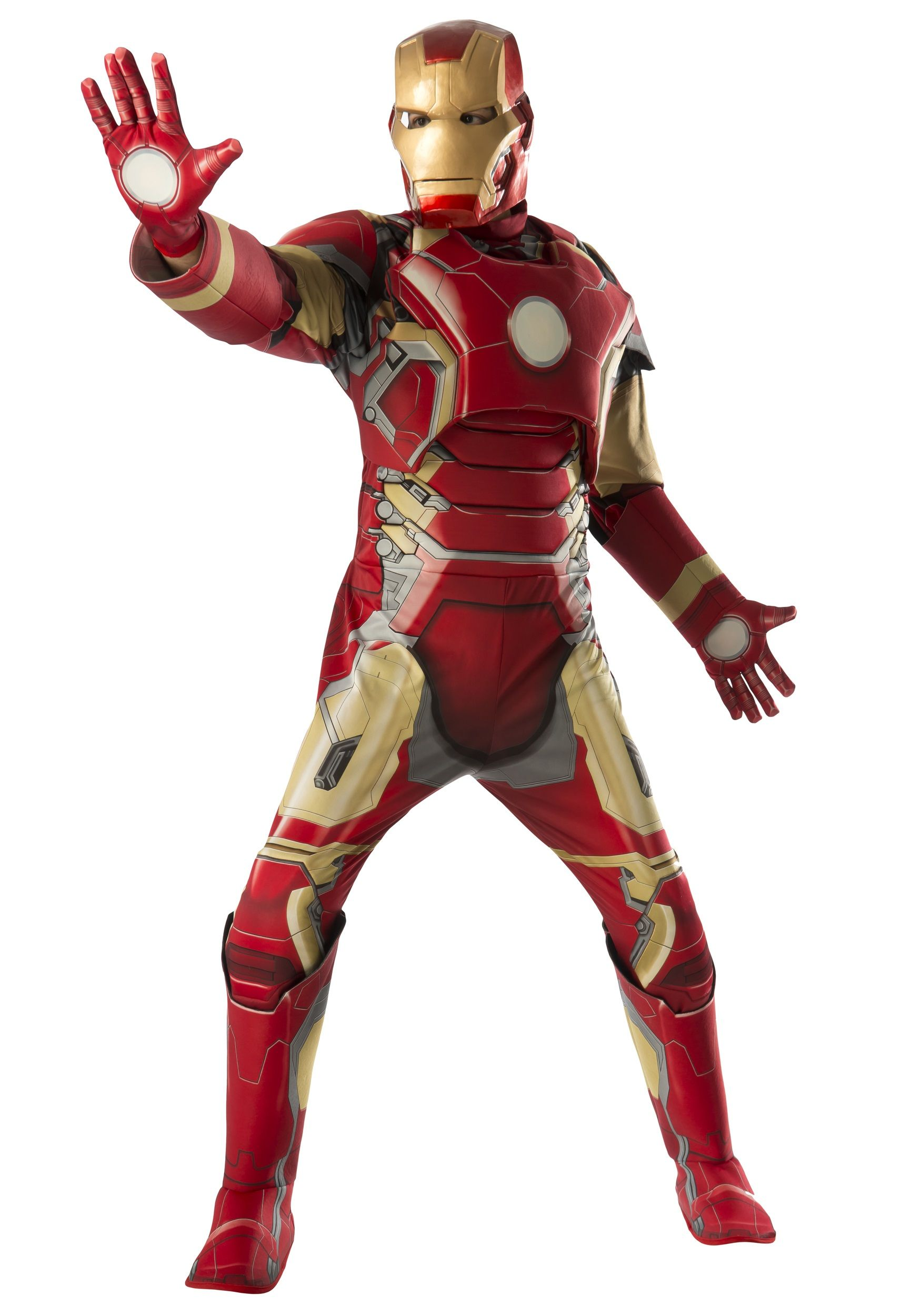 Adult Deluxe Iron Man Mark 43 Avengers 2 Costume | Costumes and ...