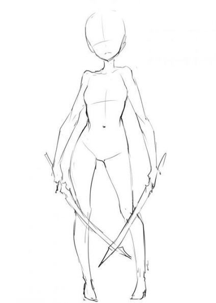 Photo of #anime posiert #drawing #ideas #poses #reference #weapons Drawing po
