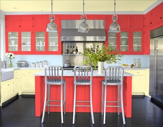 Fabulous Coral Kitchen!  Photo Gallery