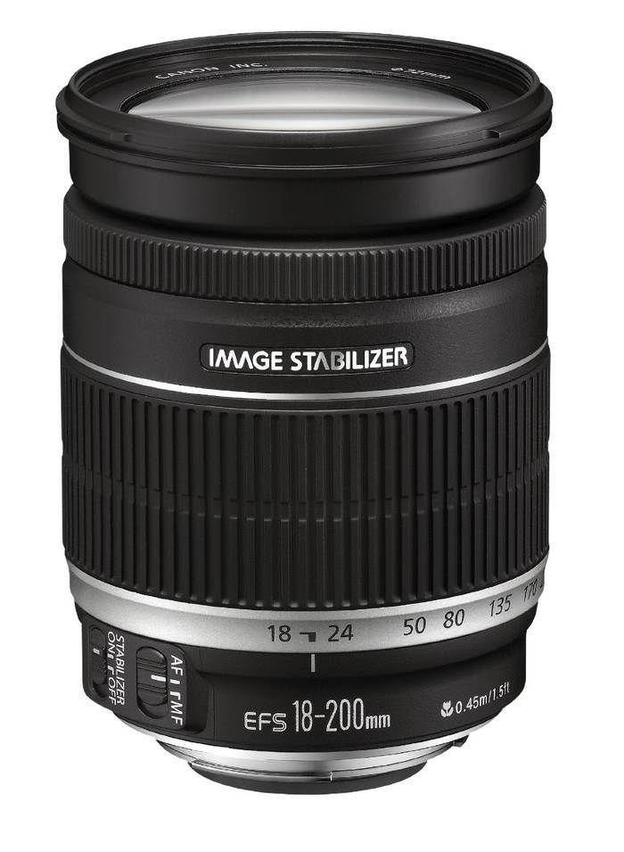 Canon Ef S 18 200mm F 3 5 5 6 Is Objetivo Superzoom Opinion Camaras Digitales Canon Ef Camaras Reflex Canon