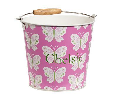 Printed Metal Buckets Baby Furniture Pottery Barn Kids