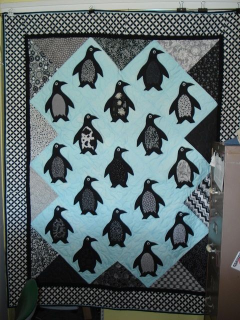 Penguin Fabric For Quilting Penguin Quilt Quilt Ideas