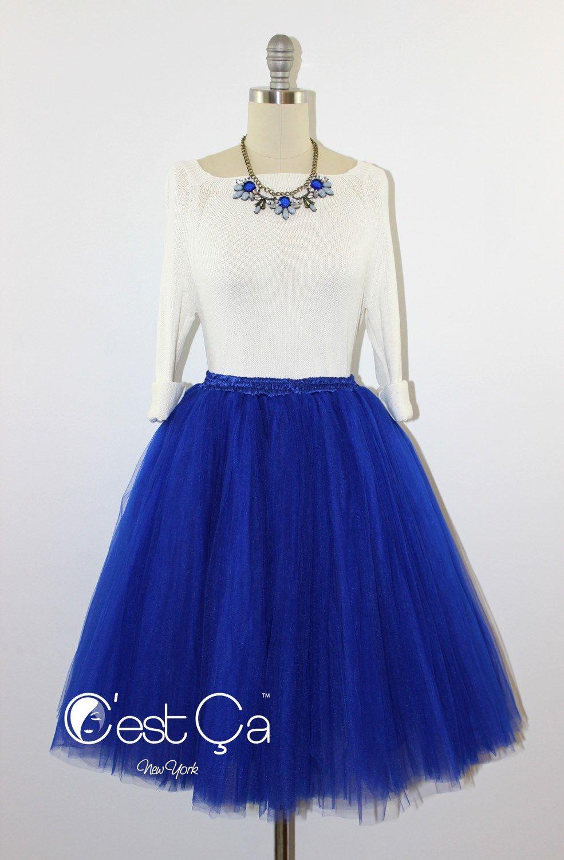 Clarisa Royal Blue Tulle Skirt Cobalt Blue Tulle Skirt Etsy Blue Tulle Skirt Tulle Midi Skirt Tulle Skirt [ 1500 x 985 Pixel ]