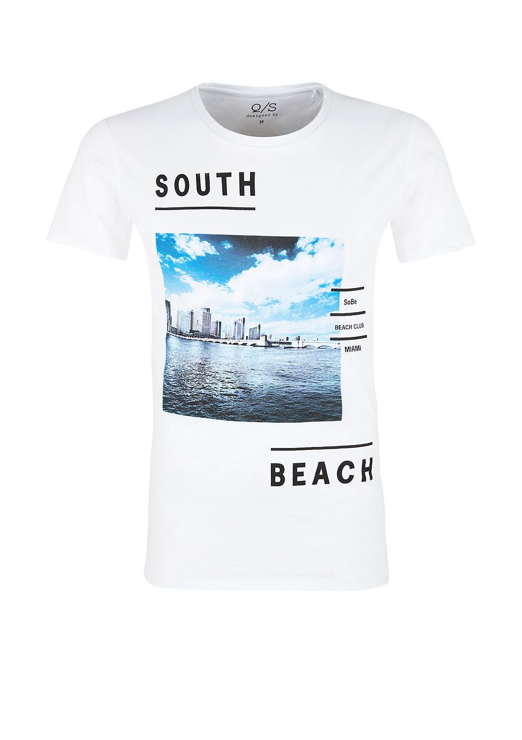 Buy T Shirt With A Miami Photo S Oliver Shop Miami Photos T Shirt Graphic Tee Design