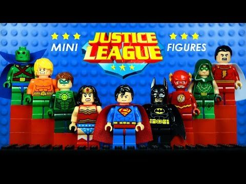 LEGO Justice League DC Superheroes KnockOff Minifigures w/ Superman ...