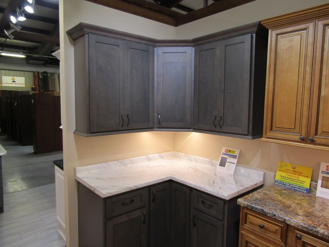 Enhance The Appearance Of Your Kitchen With A Set Of Our West Point Grey Cabinets The Soft Subtle Tones Will Give Kitchen Remodel Grey Cabinets Kitchen Decor