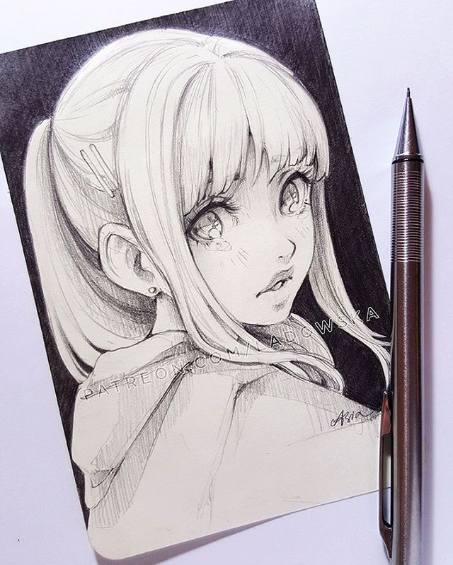 50 4 Tys Otmetok Nravitsya 158 Kommentariev Asia Ladowska Ladowska V Instagram Quot Don 39 T Cry Quo Anime Art Art Sketches Anime Drawings Sketches