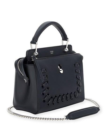 7ab2712b8b24 Dotcom Click Whipstitch Leather Shoulder Bag
