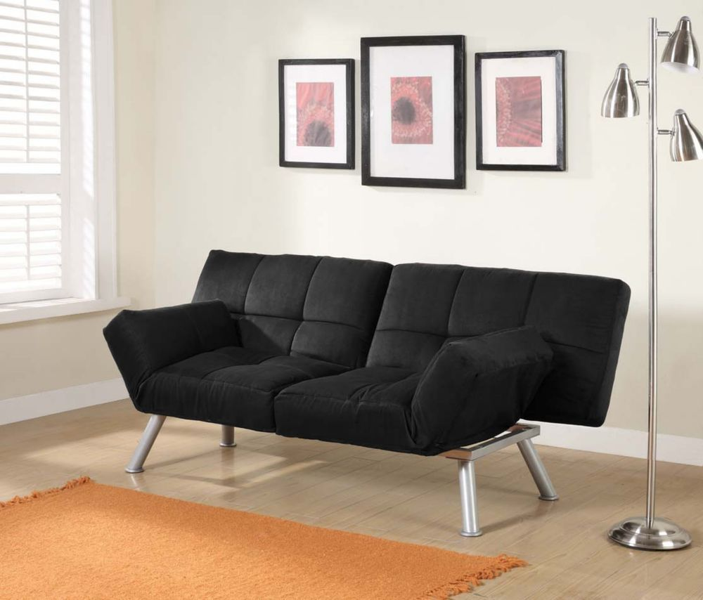 Futon Sofa Bed Sleeper Twin Size Convertible Guest Room