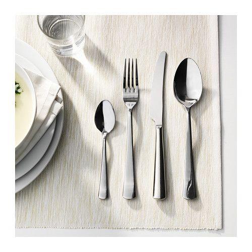 sedlig 24 piece cutlery set stainless steel cutlery set. Black Bedroom Furniture Sets. Home Design Ideas