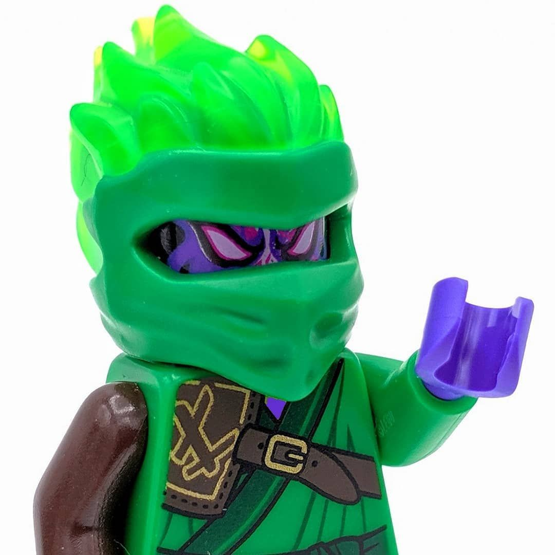 What If Lloyd Was Corrupted By The Overlord And Had Forbidden Spinjitzu Powers Would He Be Unstoppable See More Crazy Minifigures In My Newest Youtube Video