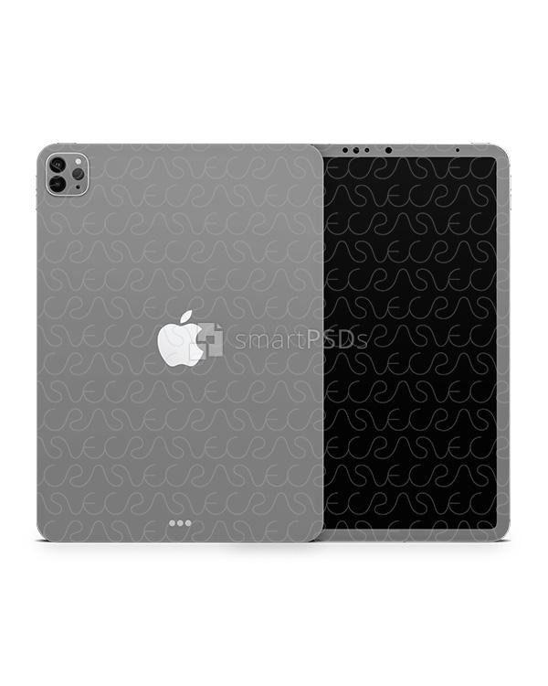 iPad Pro 11-inch (2020) Smart PSD Skin Mockup
