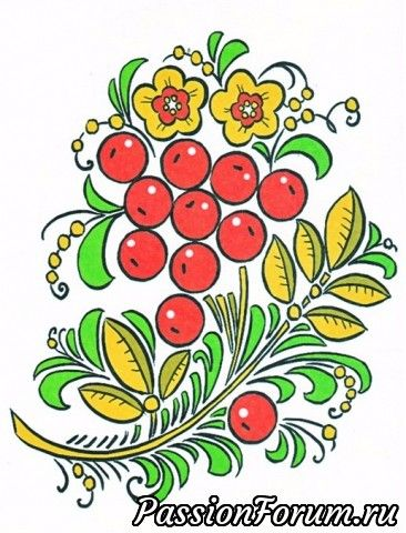 раскраска русские народные промыслы художественная роспись