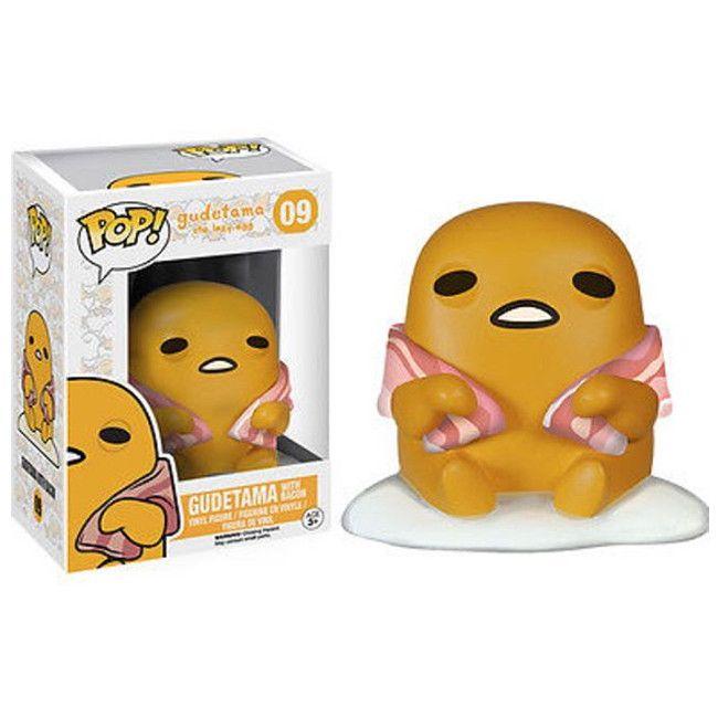 Sanrio Pop Vinyl Figure Gudetama With Bacon The Lazy Egg Sugar