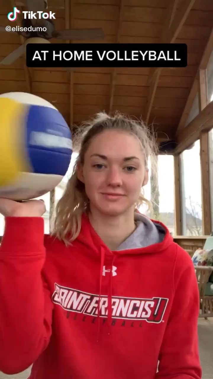 At Home Volleyball Video In 2020 Volleyball Workouts Volleyball Tips Volleyball Skills