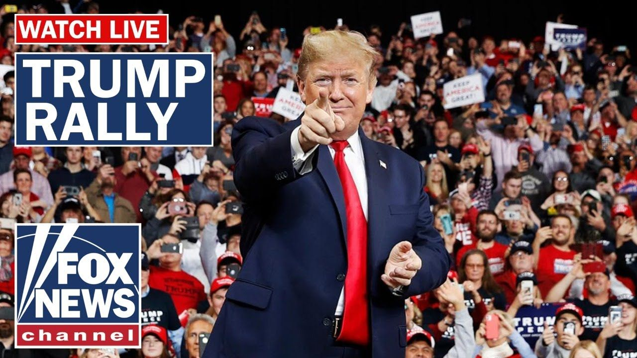Live Trump holds 'Keep America Great' rally in New Jersey