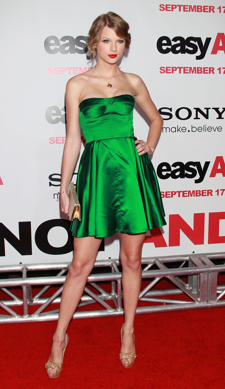 Green Dress Taylor Swift Taylor Swift Style Taylor Swift Dress Green Dress