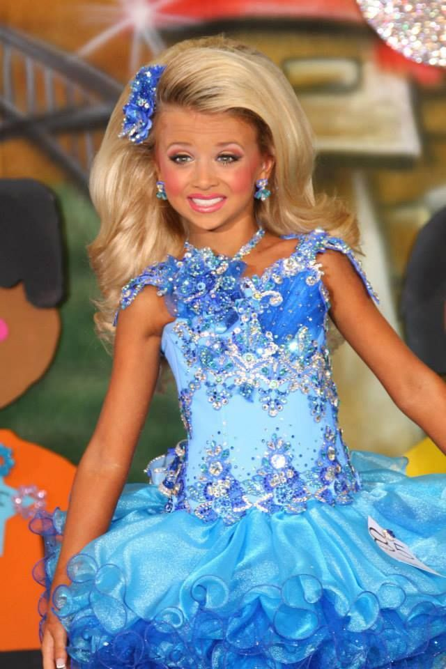 pageant hair child beauty