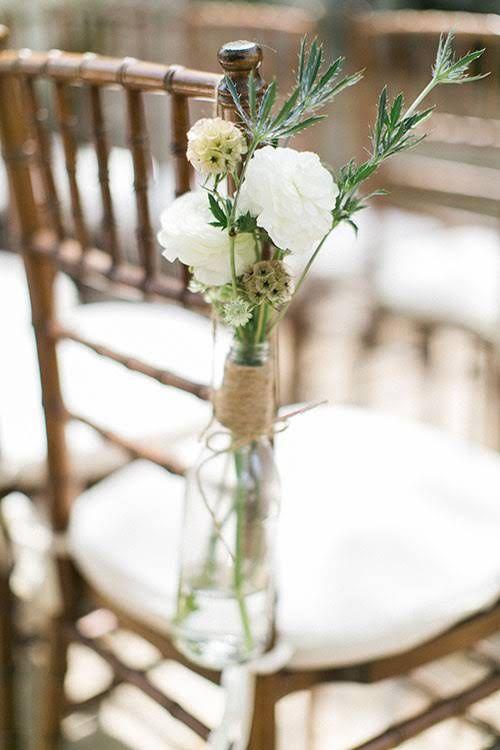 Spring Wedding at the Villa at San Juan Capistrano, Floral Aisle Decorations