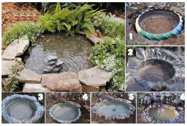 Plantas para estanques de jardin free estanque natural Estanque natural como hacerlo