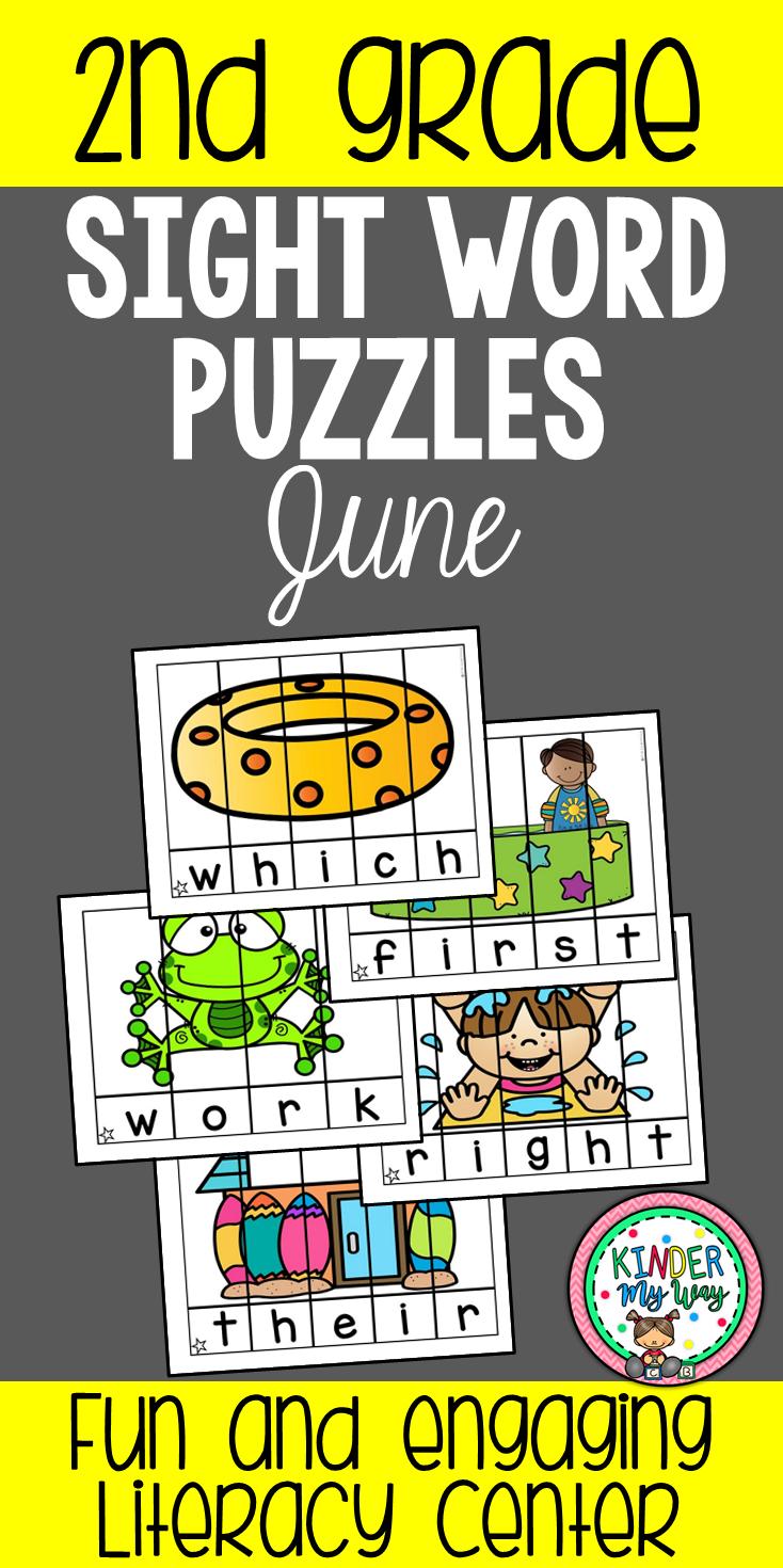 June Sight Words Practice Kindergarten Resources Ideas And