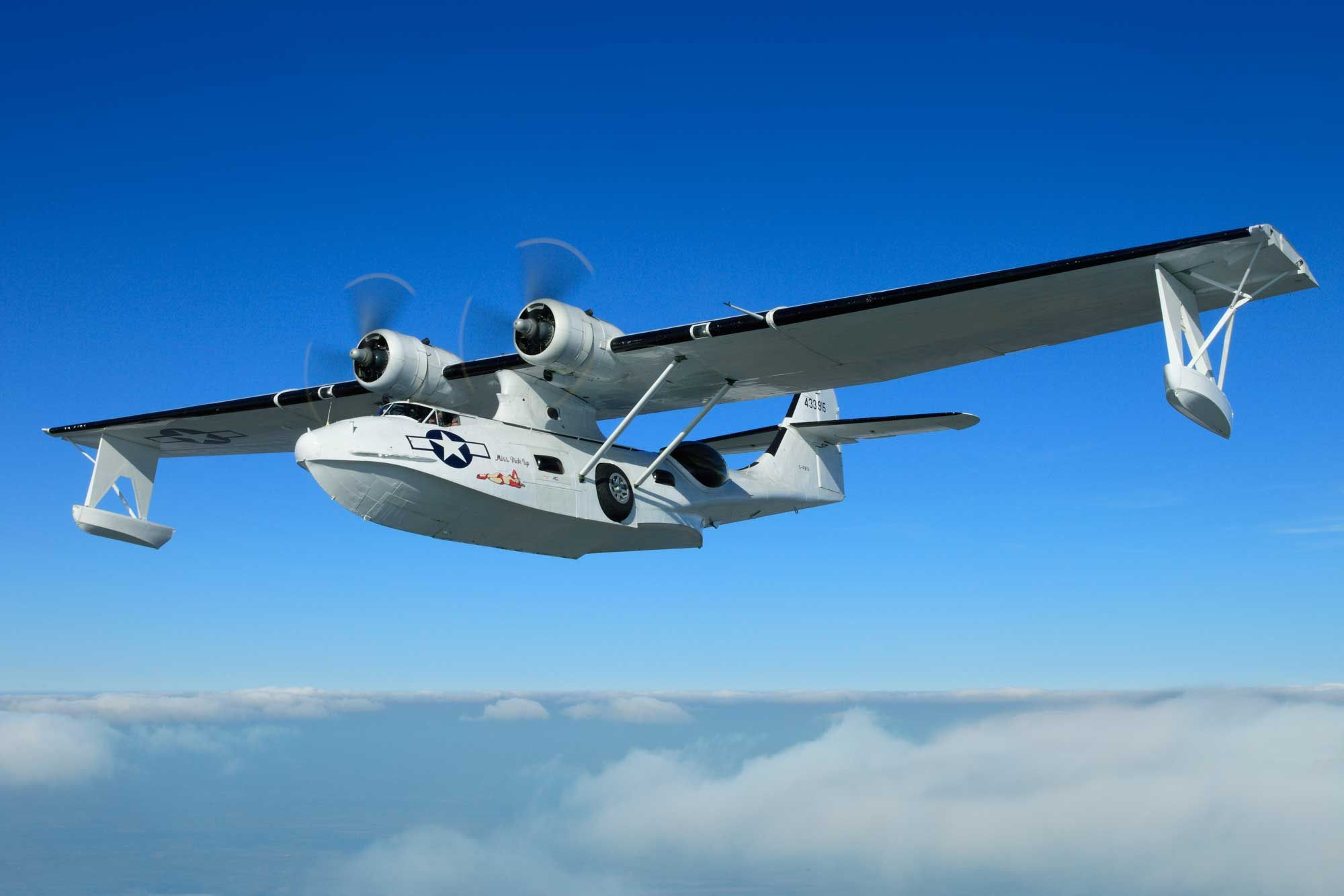 The Catalina was used in roles ranging from submarine hunting to search and rescue and is probably the most well known flying boat ever produced. G-PBYA is operated by The Catalina Society who will be flying the aircraft in Scampton Airshow's flying display.