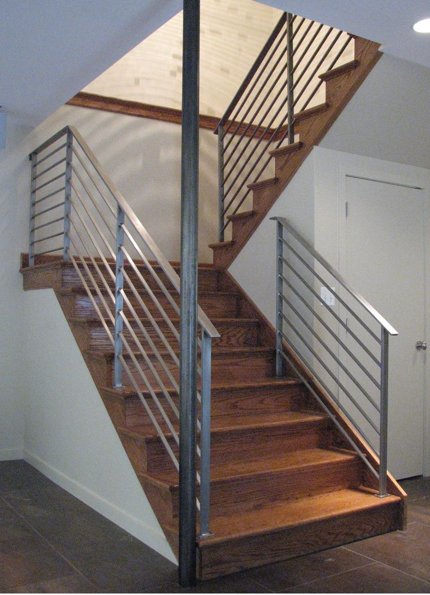 Handmade Rudess Stair Railing By Eric David Laxman