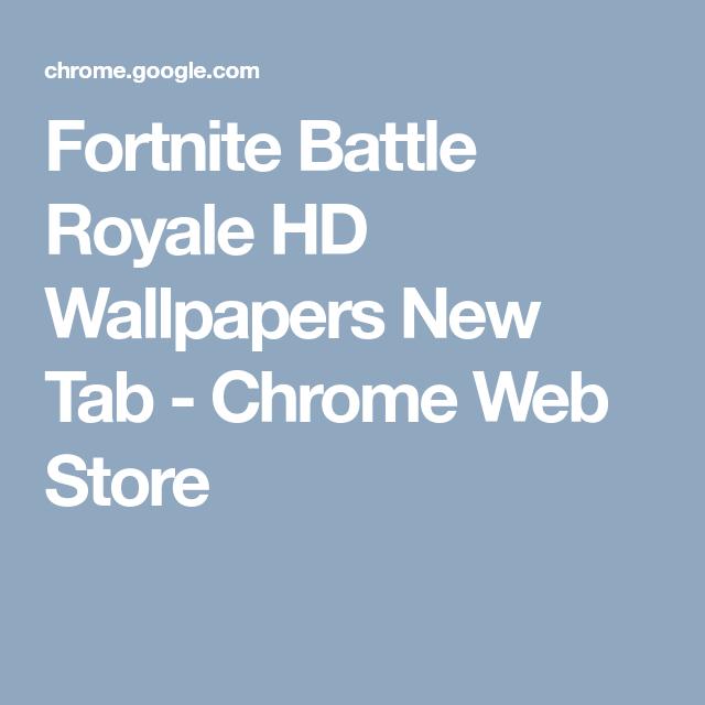Fortnite Battle Royale Hd Wallpapers New Tab Chrome Web Store