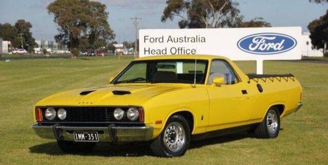 1978 Falcon Xc Gs Ute Aussie Muscle Cars Classic Cars Muscle
