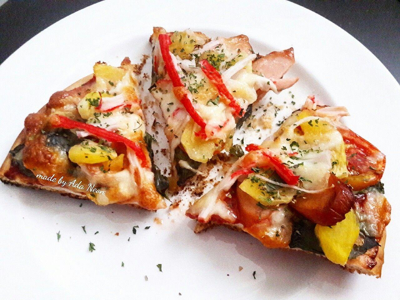 Mixed Pizza Homemade