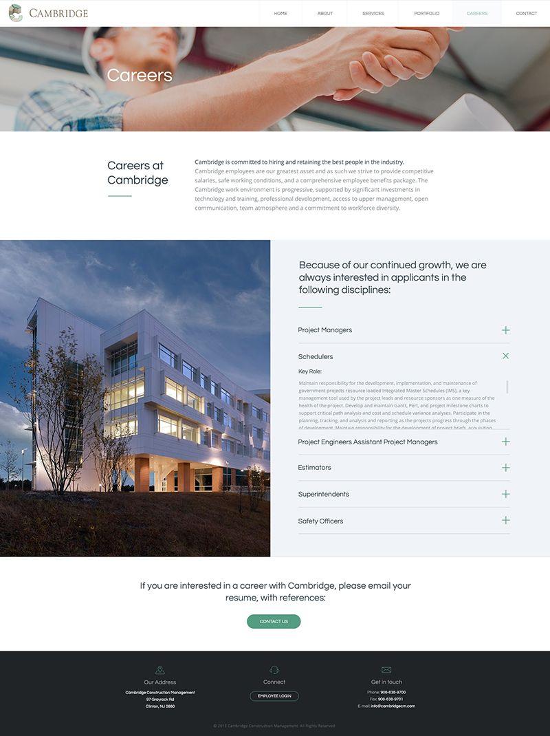 Cambridge Web Design Development Bigdropinc Com