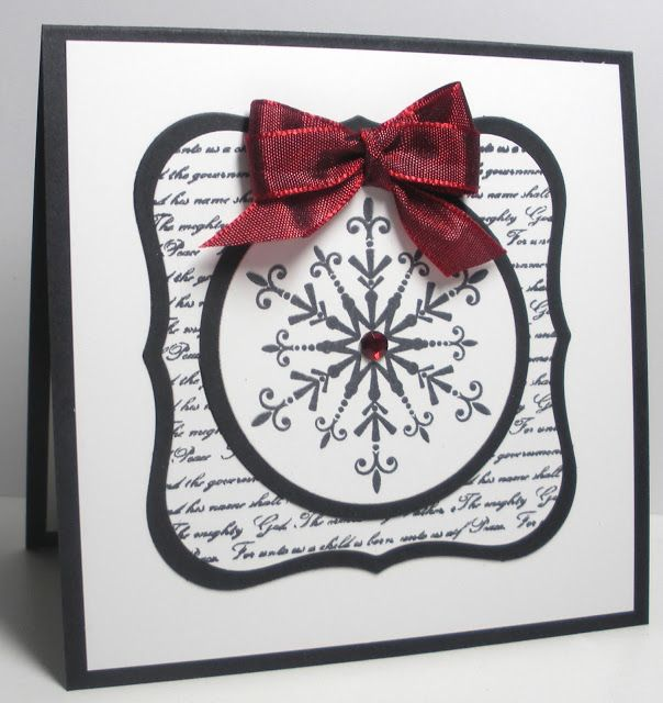 Think Outside the Box: Black and White Snowflake