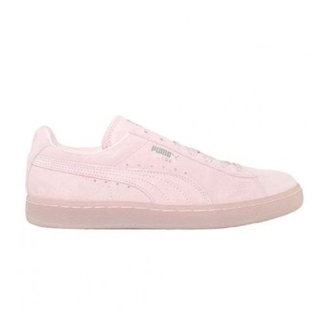 68fc429c2a25 Chaussures Puma Suede Rose Mono Iced Pink Dogwood