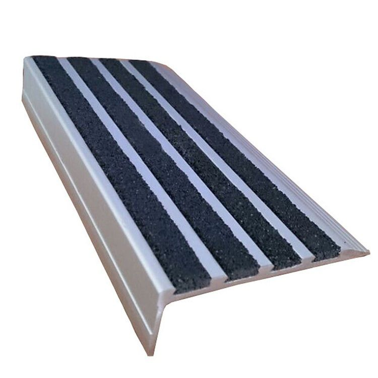 exterior stair treads and nosings. aluminum stair nosing export to au, new zealand. anti slip, safety,durable exterior treads and nosings pinterest