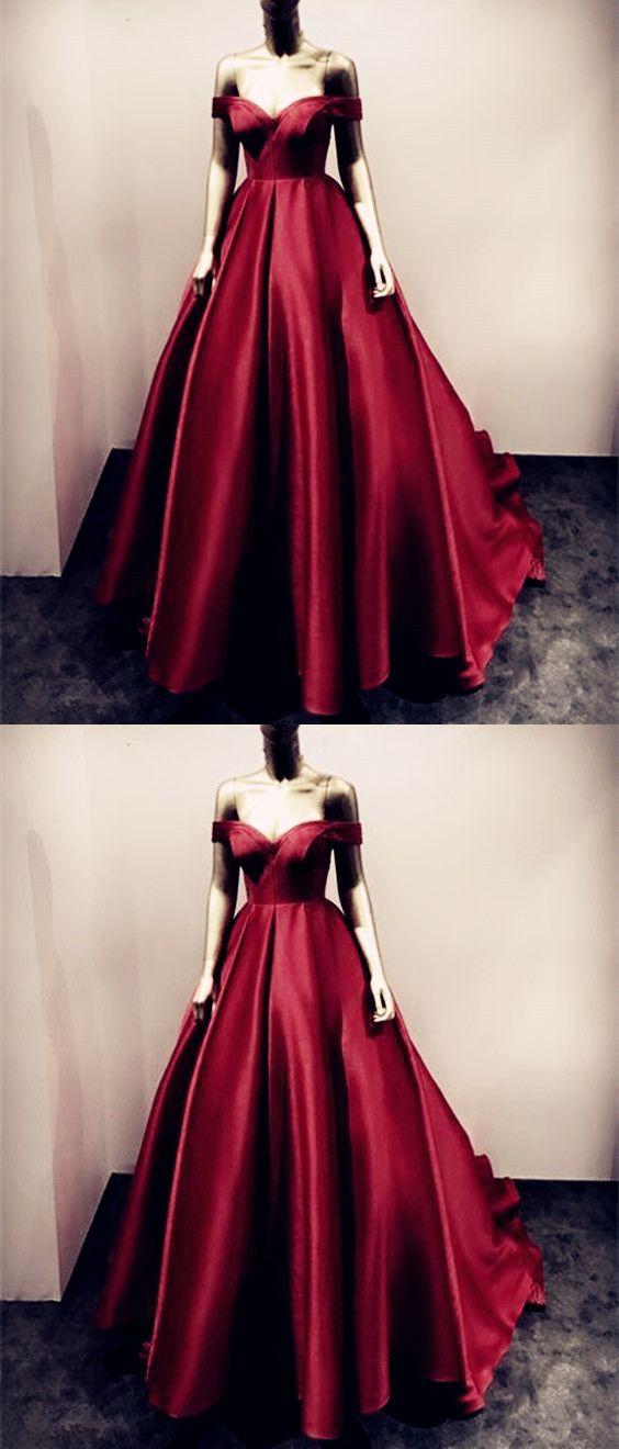 burgundy ball gowns,ball gown prom dress,maroon evening dress,wine ...