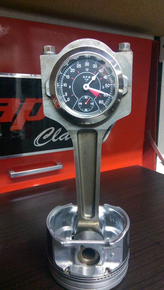 Piston Clock By Richysyard On Etsy Projects To Try