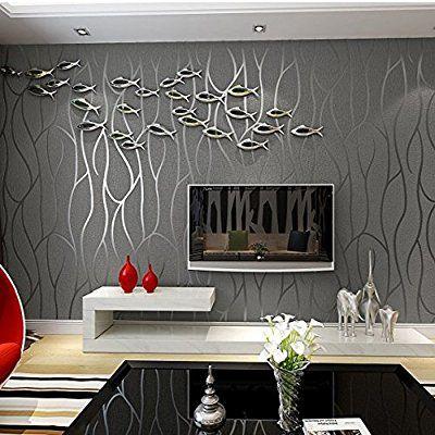 Reyqing 3d Dreidimensionale Relief Modernen Vliestapete Fernseher Hintergrund Wand Papi Diseno De Interiores Moderno Diseno De Interiores Decoracion De Unas