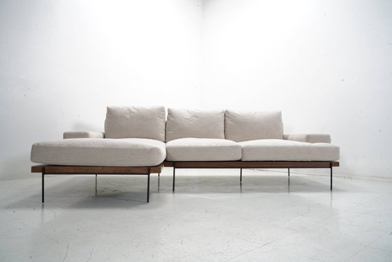 Feather Filled Sofa Chaise