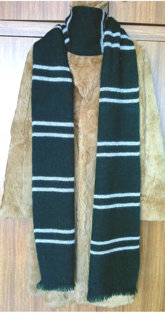 Photo of Harry Potter Slytherin House scarf (screen-accurate) – Dovile's Knitting  & …