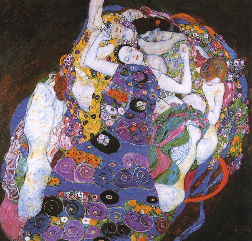 Pinturas de Gustav Klimt que debes conocer además de El Beso. | Arte ...