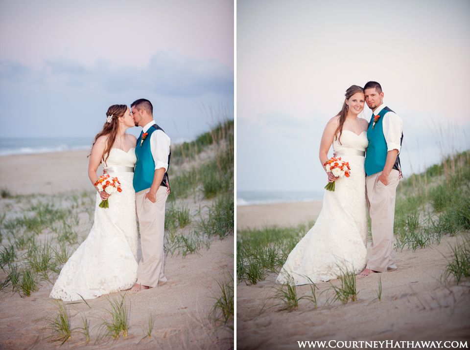 Courtneyhathaway L Outer Banks Wedding OBX Beach