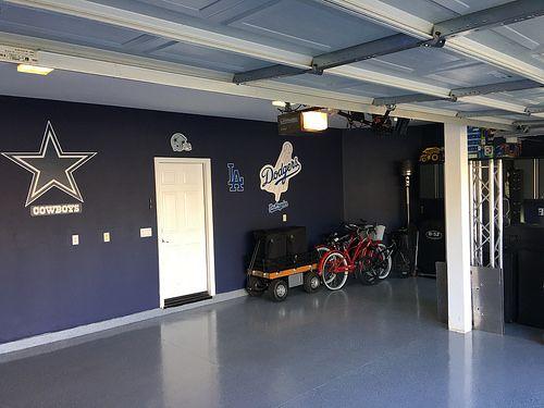 Dallas Cowboys Los Angeles Dodgers Garage Garage Ideas