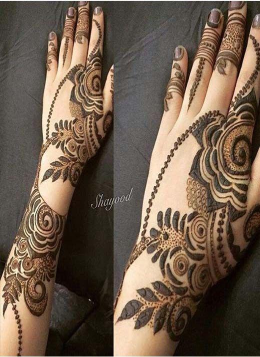 Full back of hands mehndi idea stylish designs wedding unique also henna pinterest rh