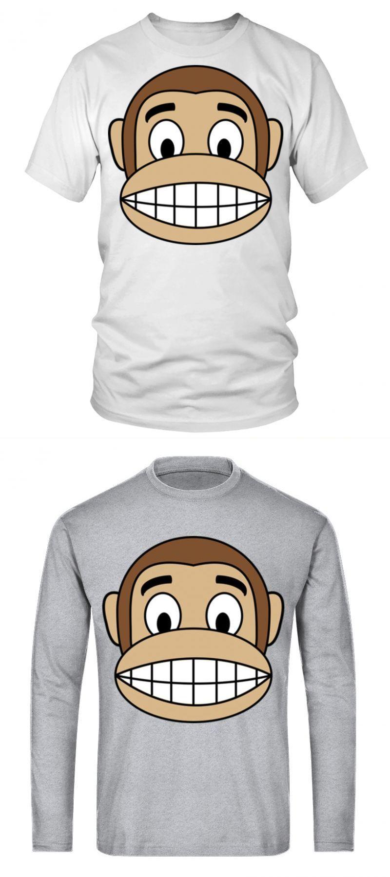 ec3edaa70 Monkey t-shirt for men happy monkey emoji light - tshirt arctic monkeys  womens t shirt #monkey #t-shirt #for #men #happy #emoji #light #tshirt # arctic ...