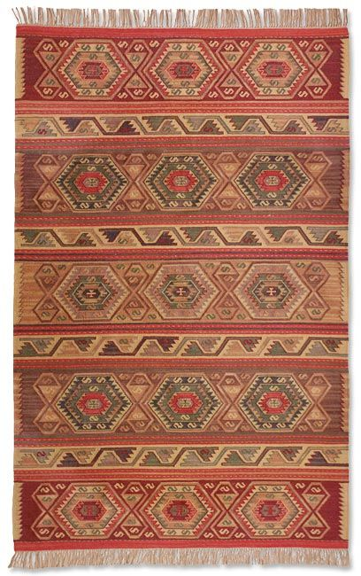 Just Found This Southwest Area Rug The Aztec Rug Orvis On Orvis Com Rugs Southwest Area Rugs Classic House