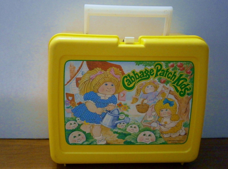 Cabbage Patch Kids Lunch Box 1983 Original Appaiachian Etsy Cabbage Patch Kids Patch Kids Kids Lunchbox