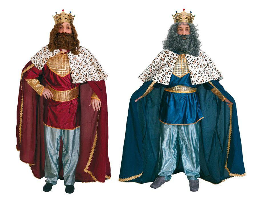 Disfrazzes traje de rey mago Disfraz de rey mago rojo